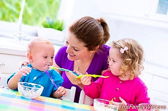 Educate the sense of taste from small to children