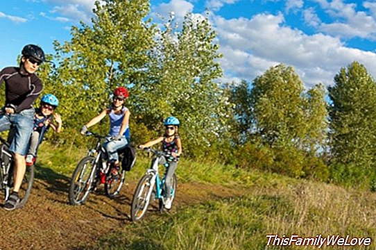 The best bicycle routes for summer with children