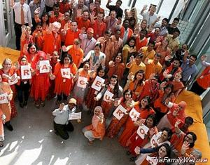 Against domestic violence, paint the world of orange