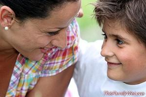 The teenager and the relationship with his mother