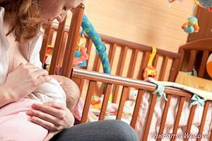 Breastfeeding improves your bacterial flora