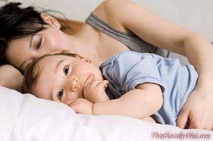 Co-sleeping and its benefits for the baby