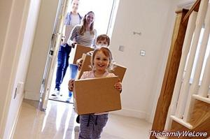 Tips to prepare the child before a move