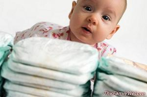 The Large Families of Europe united by the VAT reduction of diapers