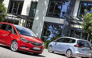 Opel Zafira: a large space communicated