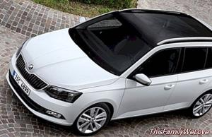 Skoda Fabia Combi. Capable and orderly