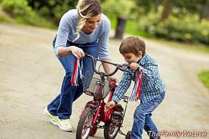 Learning to ride a bicycle: 5 steps to teach children