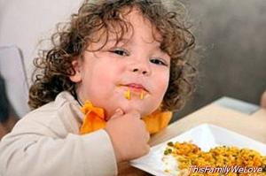 10 tips to stimulate the appetite of children