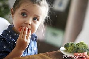 How to get children to eat vegetables