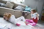 What to do when your children's friends behave badly at home