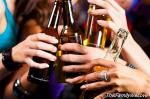 Decrease in alcohol intake among young people